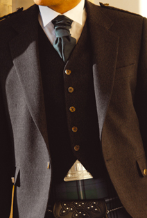 waistcoat5buttontweed The Highland Waistcoat Collection