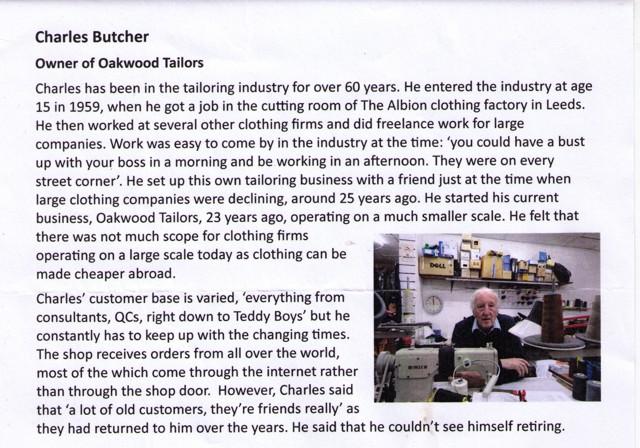 Oakwood Tailors University Comments